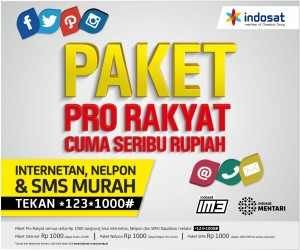paket indosat pro rakyat