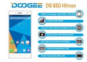 Doogee DG 850 Hitman