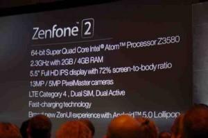 Spesifikasi Asus Zenfon 2