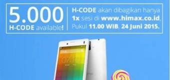Himax Polymer 2, Android Lollipop 4.7 Inci Quad Core Harga 900 Ribuan