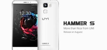 UMI Hammer S, Android 5.5 Inci 4G LTE Harga 1 Jutaan Dengan Retina Scanning