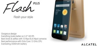 Alcatel One Touch Flash, Android Octa Core 5.5 Inci 2 Jutaan 4G Lte