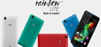 Wiko Rainbow Lite, Android Quad Core 5 Inci 1 Jutaan Kamera 5 MP