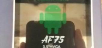 Asiafone Asiadroid AF75, Android 3G Dual Kamera Terbaru Murah Harga 400 Ribuan