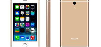 Asiafone AF898, Ponsel Berdisain ala iPhone 6 Harga 300 Ribuan