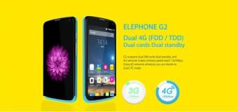 Elephone G2, Android Quad Core 4G LTE Harga 1 Jutaan