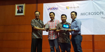 Axioo Windroid 9GPlus, Tablet Dual OS RAM 2 GB