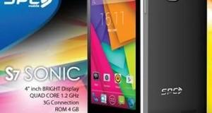 SPC S7 Sonic, Android Quad Core 4 Inci Dual Kamera 600 Ribuan