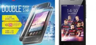 Advan Barca S4X, Android Quad Core Selfie Dual Kamera 5 MP Murah 700 Ribuan