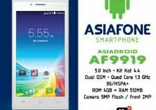 Asiafone AF9919, Android Quad Core 5 Inci Dual Kamera 600 Ribuan