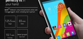 Himax Aura Y11, Android Quad Core 4 Inci RAM 1 GB Dual Kamera 800 Ribuan