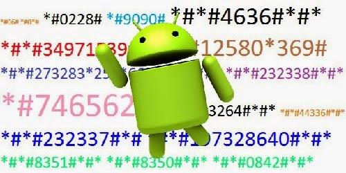 kode rahasia untuk cek hp android