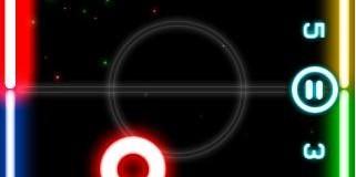 Download Game Android Dual Player Seru Offline, Glow Hockey