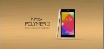 Himax Polymer 3, Android Quad Core Lollipop RAM 1 GB Murah Rp 1 Jutaan