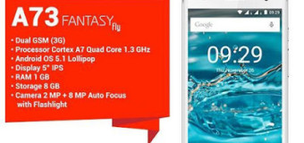 Mito A73 Fantasy, Android Quad Core 5 Inci Kamera 8 MP 900 Ribuan