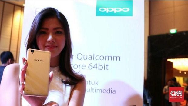 Peluncuran Smartphone Oppo F1