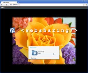 Aplikasi Web Sharing