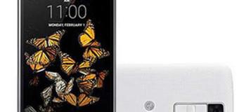 LG K8 K350K, Android 4G LTE Berlayar 2,5D Harga Terjangkau
