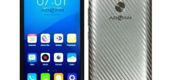 Advan S5E NXT, Android Layar 5 Inci RAM 1GB Harga 1 Jutaan