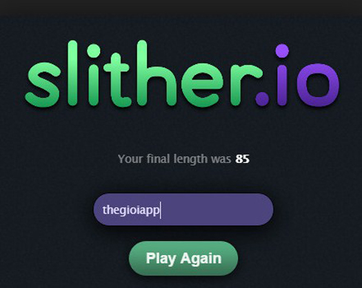 Aplikasi Slither.io