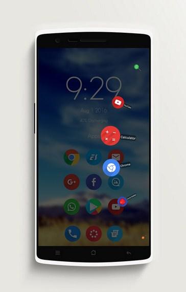 Aplikasi Circle Sidebar Pro
