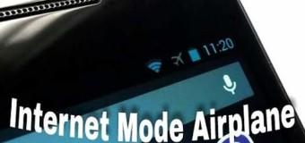 Ingin Internetan Dengan Mode Pesawat ? Begini Cara Mudahnya
