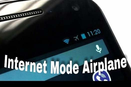 Internetan Dalam Mode Pesawat