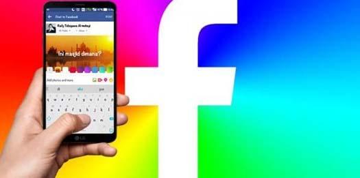 Status Facebook Berlatar Foto