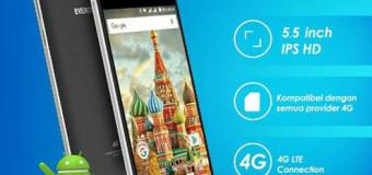 Evercoss Winner Y Smart Plus U55, Android v7.0 Nougat Harga Dibawah 1 Juta