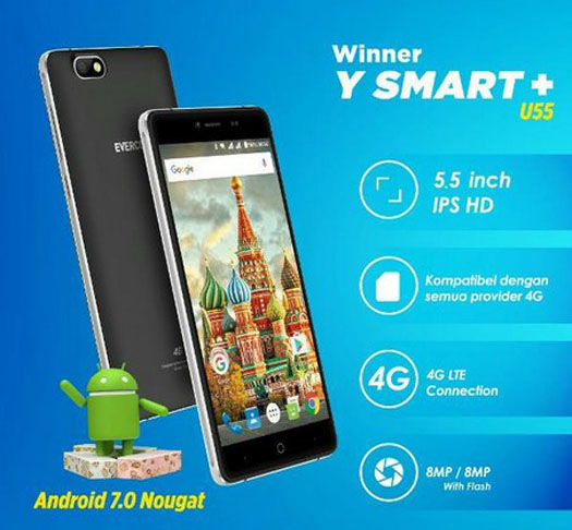 Evercoss Winner Y Smart Plus