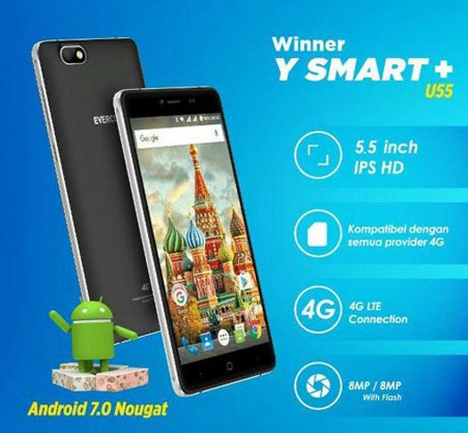Evercoss Winner Y Smart Plus