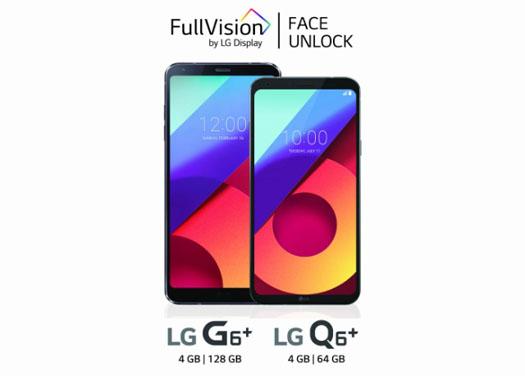 LG G6 Plus & LG Q6 Plus
