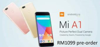 Resmi, Xiaomi Mi A1 Sudah Bisa Dipesan