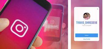 Cara Mudah Menggunakan Fitur Nametag di Instagram